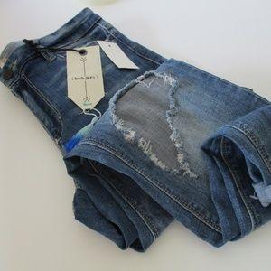 Banjara Jeans Ankle Skinny Destruct Size 30